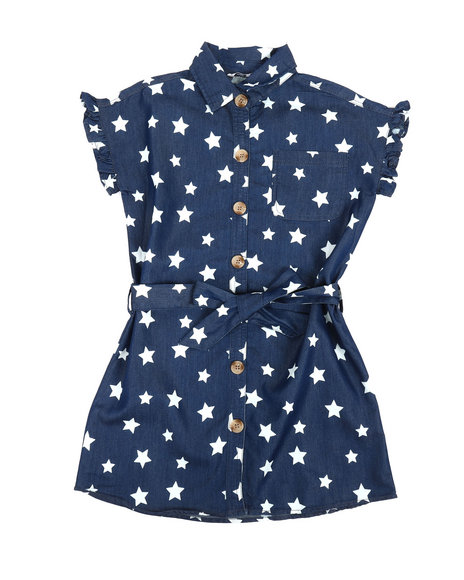 Kensie Girl - Riley Shirt Dress (7-16)
