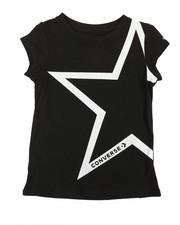 Converse - Oversized Star Tee (4-6X)-2360142