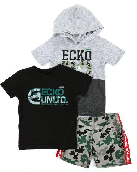 Ecko - 3 Pc Knit Set (2T-4T)