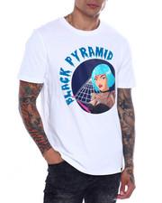 Black Pyramid - BLUE WIG DRIP TEE-2361631