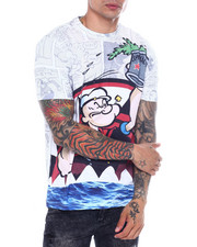 deKryptic - Popeye sharkmouth tee-2361420