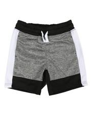 Arcade Styles - Color Block Marled Shorts (4-7)-2358400