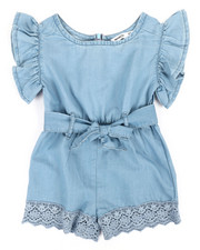 Rompers - Mae Tie Front Romper (2T-4T)-2360252