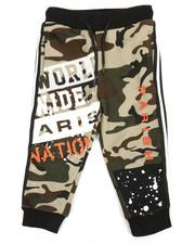 Boys - Color Block Jogger Pants (2T-4T)-2360333