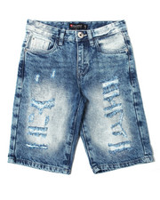 Arcade Styles - Repaired Denim Shorts (8-20)-2362411