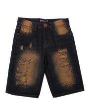 Arcade Styles - Repaired Denim Shorts (8-20)-2362404
