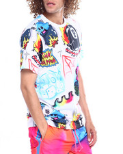 Pink Dolphin - AIRBRUSH HALLUCINATIONS TEE-2361797
