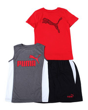 Sets - S/S Tee, Muscle Tee + Short Set (8-20)-2361242