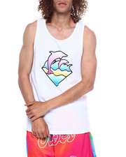 Pink Dolphin - PASTEL WAVES TANK-2362022