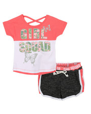 Delia's Girl - 2 Pc Tee & Shorts Set (2T-4T)-2360584