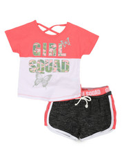 Delia's Girl - 2 Pc Tee & Shorts Set (4-6X)-2360593