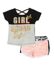 Delia's Girl - 2 Pc Tee & Shorts Set (2T-4T)-2360562