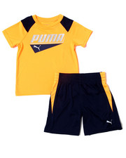 Puma - Poly Performance S/S Tee + Short Set (2T-4T)-2360945
