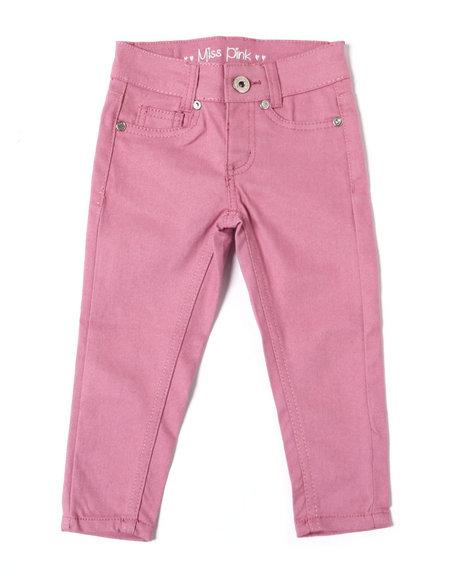 La Galleria - Skinny Stretch Twill Pants (2T-4T)