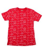 Sizes 8-20 - Big Kids - Allover Printed Tees (8-20)-2362455