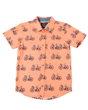 Button-downs - Bike Printed S/S Woven (8-20)-2362485