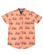 Sizes 8-20 - Big Kids - Bike Printed S/S Woven (8-20)-2362485