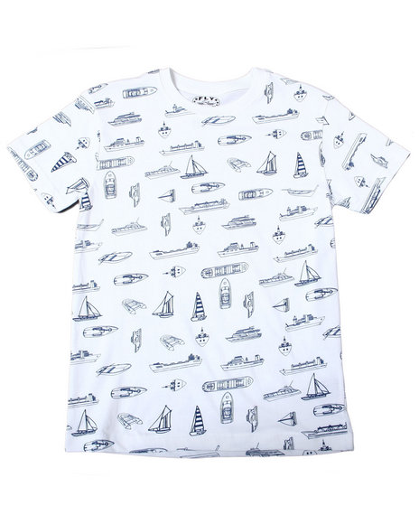Fly Society - Allover Printed Tees (8-20)