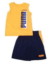 Puma - Poly Performance S/S Tee + Short Set (4-7)-2362538