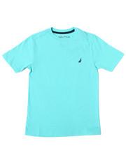 Sizes 8-20 - Big Kids - Nautica Logo Printed S/S Tee (8-20)-2362085