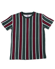 Arcade Styles - Vertical Striped S/S Tee (8-20)-2362205