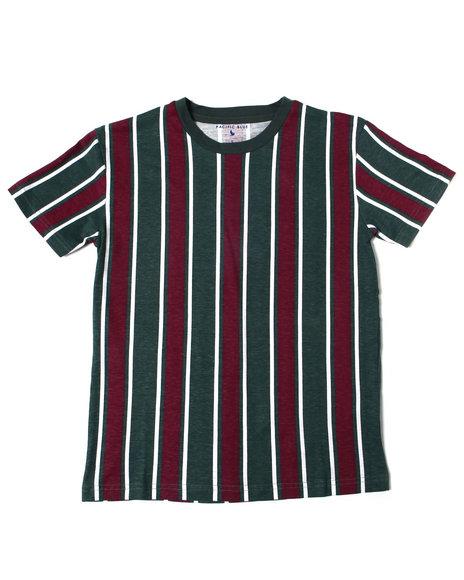 SASCO - Vertical Striped S/S Tee (8-20)