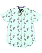 Button-downs - Flip Phone Printed S/S Woven (8-20)-2362480