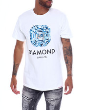 Diamond Supply Co - ASSCHER CUT SS Tee-2363167