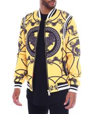 Outerwear - Filagree Print Bomber Jacket-2363205