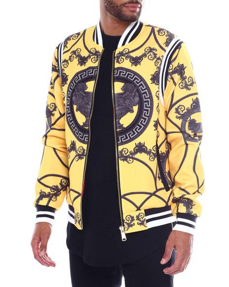 Buyers Picks - Filagree Print Bomber Jacket