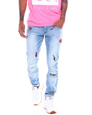 Spring-Summer-M - EMBROIDERED GAMER JEAN-2363366