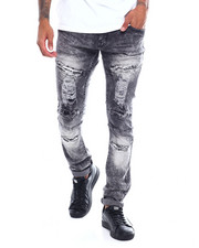 Buyers Picks - WASHED RIPPED SLIM STRAIGHT JEAN-2363188