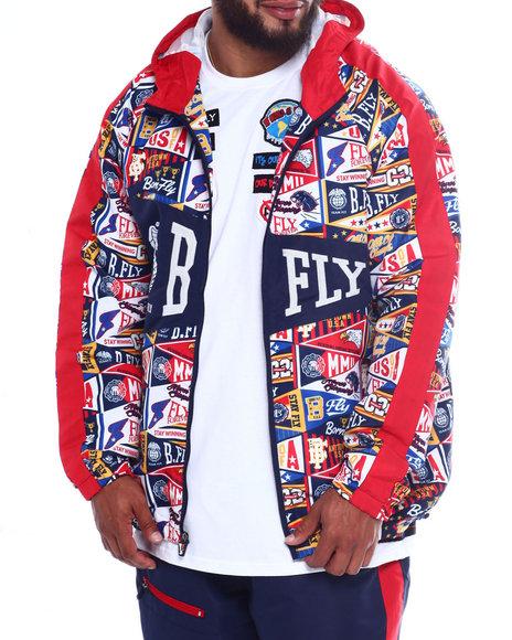 Born Fly - Carnegie Nylon Jacket (B&T)