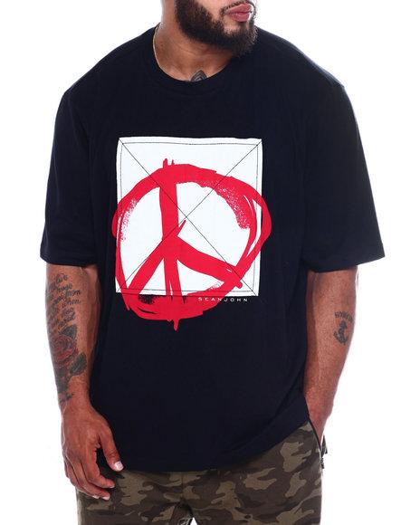 Sean John - S/S Marker Peace Tee (B&T)