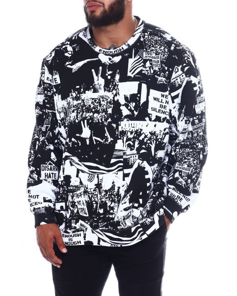 Sean John - Protest Crew Sweatshirt (B&T)