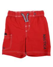 Swimwear - Swim Trunks W/ Marled Drawstrings (4-7)-2361361