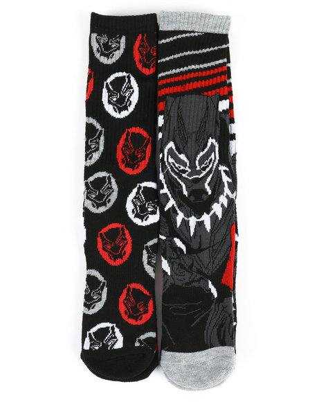 Buyers Picks - Black Panther 2 Pack Crew Socks