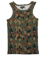 Tanks - Camouflage Design Tank Top (8-20)-2362923