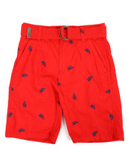 Boys - Graphic Print Shorts (8-20)-2361378