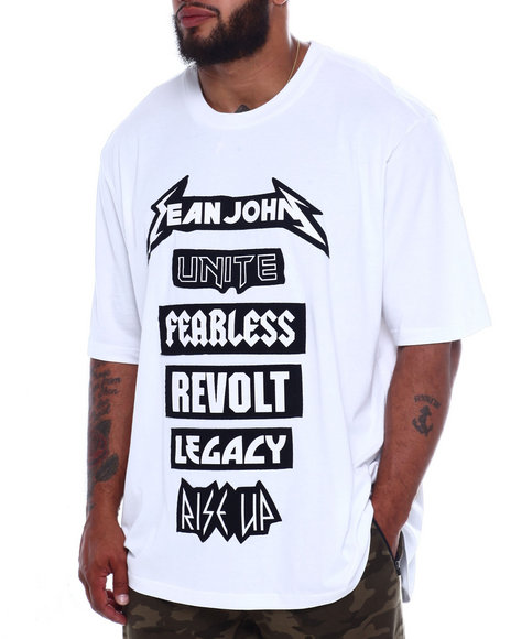 Sean John - SJ S/S Patch Tee (B&T)
