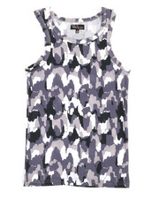 Tanks - Camouflage Design Tank Top (8-20)-2362913