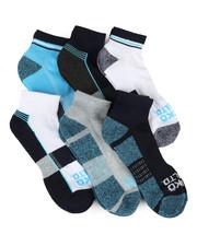 Ecko - 6 Pack Quarter Cushion Socks-2356711