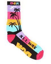 DRJ SOCK SHOP - All Day Crew Socks-2356697