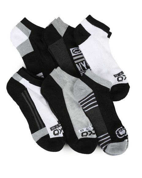 Ecko - 6 Pack No Show Socks