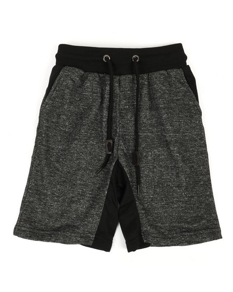 Arcade Styles - Marled French Terry Shorts (8-20)