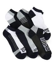 DRJ SOCK SHOP - 6 Pack 1/2 Cushion No Show Socks-2356722