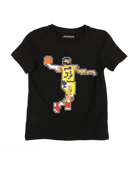 Hudson NYC - 8 Bit King Hooper T-Shirt (5-18)
