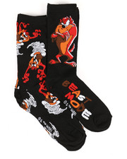 DRJ SOCK SHOP - Tasmanian Devil Beast Mode 2 Pack Crew Socks-2360071