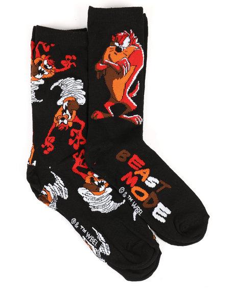 Buyers Picks - Tasmanian Devil Beast Mode 2 Pack Crew Socks