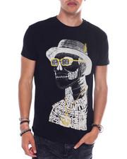 Men - Hipster Skull Jewel Tee-2364708